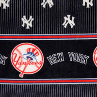 Premium Anti-Pill New York Yankees Double Border Fleece B58