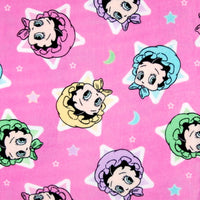 Premium Anti-Pill Betty Boop Star Baby Fleece B592