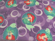 Anti-Pill Disney Little Mermaid Fleece B613