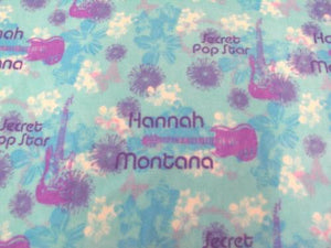Premium Anti-Pill Hannah Montana Fleece B626