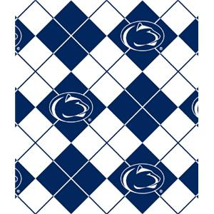 Anti-Pill Penn State Argyle Fleece B655