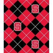 Anti-Pill North Carolina State Argyle Fleece B650