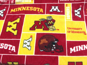 Premium Anti-Pill Minnesota University Fleece B651