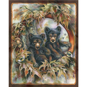Anti-Pill Jody Bergsma Bears & Bees Fleece Panel B686