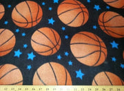 Anti-Pill Basketballs On Black Fleece B950
