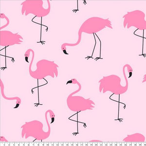 Premium Anti-Pill Flamingo Pink Fleece B976