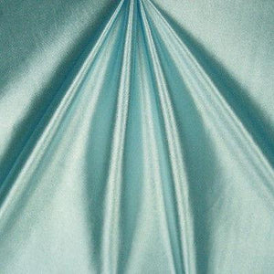 Shiny Nylon Spandex Stretch Satin Baby Blue