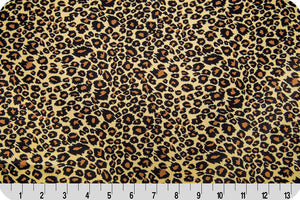 Cheetah Charmeuse Satin TAN BROWN SP-27