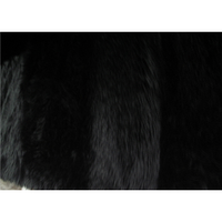 Long Pile Shaggy Fur BLACK