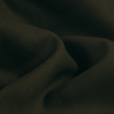 Brown Poly Gabardine