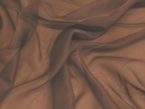 Chiffon 44 Inch Wide BROWN