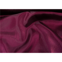 Crystal Satin BURGUNDY