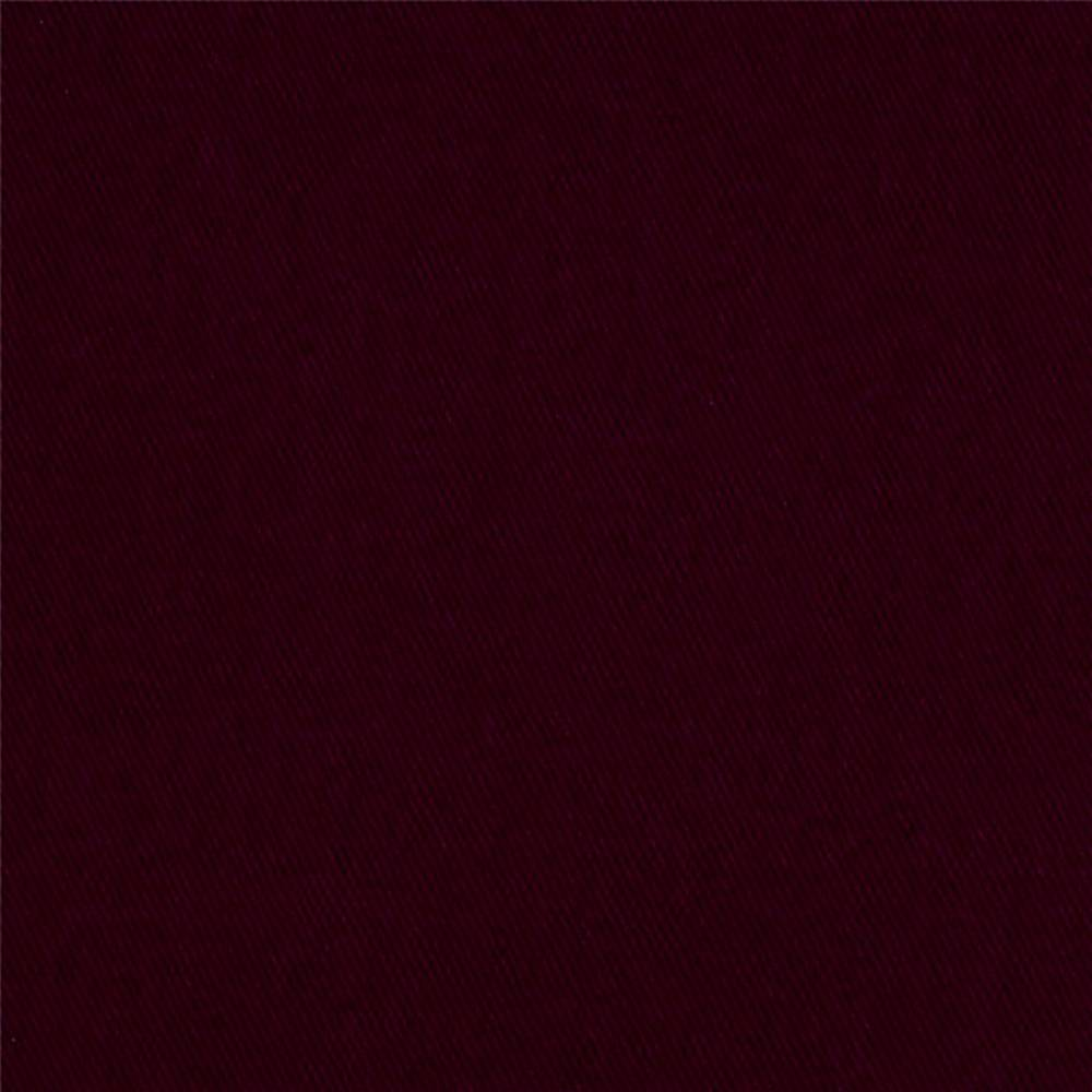 Poly Cotton Twill 7/8 Ounce BURGUNDY