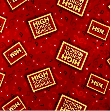 Premium Anti-Pill High School Musical Fleece C28