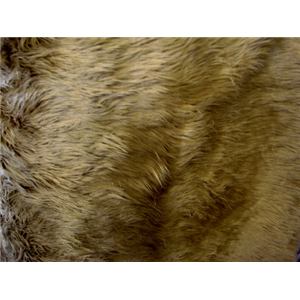 Long Pile Shaggy Fur CAMEL