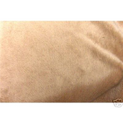 "Stretch Ultra Soft Cuddle Fur 1/8"" Pile CAMEL"