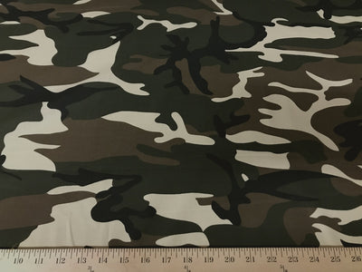 100% Cotton Sheeting Army Camouflage