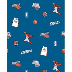Anti-Pill Charlotte Bobcats Fleece B305