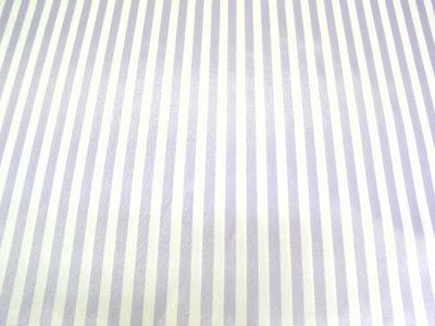 Striped Charmeuse Satin LAVENDER