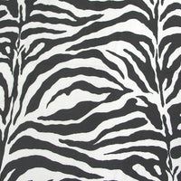 SWATCHES Zebra Charmeuse Satin