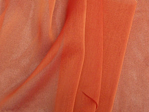 "Two Tone Chiffon 58"" BURNT ORANGE"