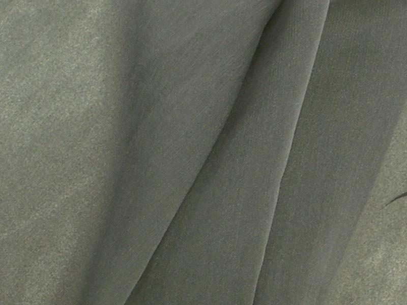 "Two Tone Chiffon 58"" CHARCOAL"