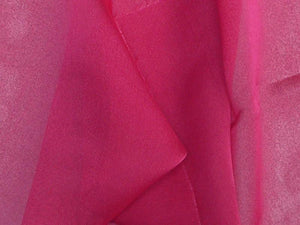 "Two Tone Chiffon 58"" HOT PINK"