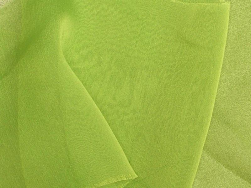"Two Tone Chiffon 58"" LIME"