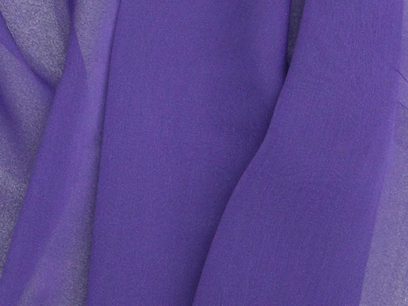 "Two Tone Chiffon 58"" PURPLE"