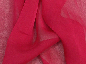 "Two Tone Chiffon 58"" RASBERRY"