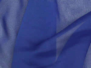 "Two Tone Chiffon 58"" ROYAL BLUE"