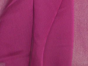 "Two Tone Chiffon 58"" VIOLET PURPLE"