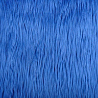 Long Pile Shaggy Fur COBALT