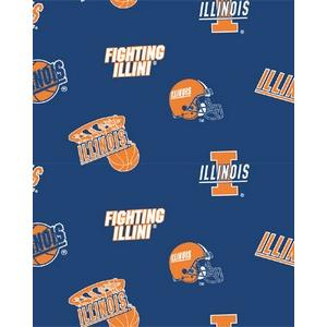 Premium Anti-Pill Illinois, University Of Fleece B342