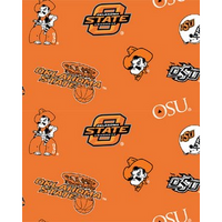 Anti-Pill Oklahoma State University Fleece B356