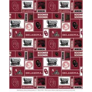 Anti-Pill Oklahoma University Fleece B369