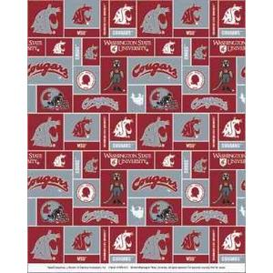 Anti-Pill Washington State University Fleece B379