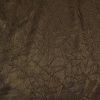 Crushed Charmeuse Satin BROWN
