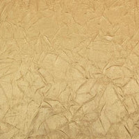 Crushed Charmeuse Satin GOLD