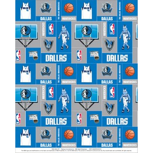Premium Anti-Pill Dallas Mavericks Last Piece 3 Yards