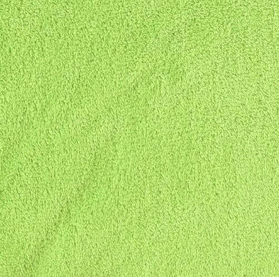 Minky Fleece Double Sided DARK LIME