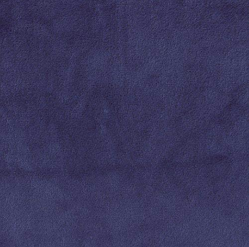 Minky Fleece Double Sided DARK ROYAL