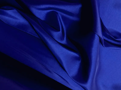 Two Tone Dress Taffeta Dark Royal