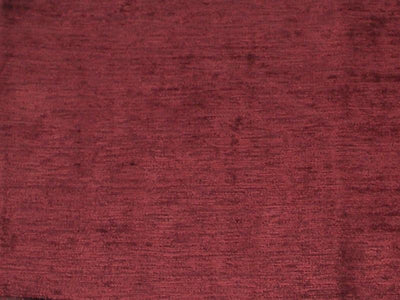 Distressed Chenille Velvet WINE