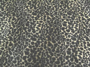 Velboa Animal Skins Fur Small Brown Spotted Leopard