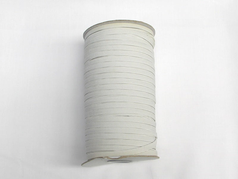 "144 Yard Roll White 1/2"" Elastic"