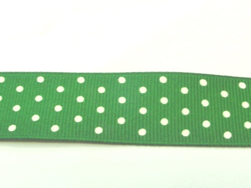 "5/8"" Grosgrain Ribbon W/Dots"
