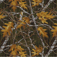 Anti-Pill Maple Leaves Branches Fleece 156