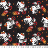 Anti-Pill Hello Kitty On The Go Black Fleece 207