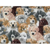 Premium Anti-Pill Puppies Fleece 535